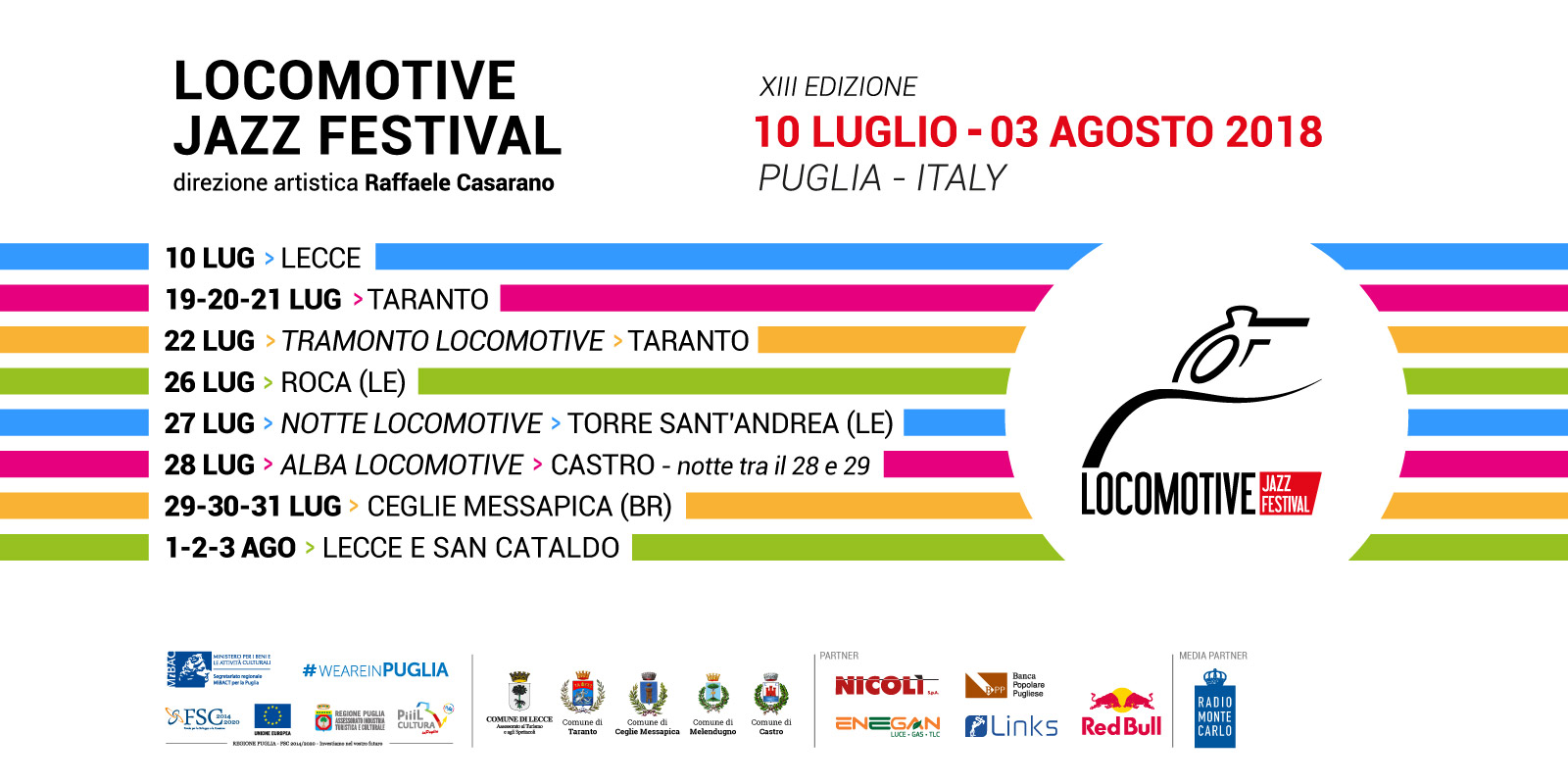 LOCOMOTIVE JAZZ FESTIVAL - DATE